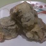 石塀小路 豆ちゃ - 秋刀魚梅しそ天ぷら