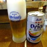 沖味亭 - オリオンビール