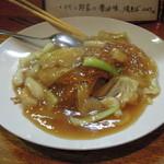 長光 - イカと野菜のしょうゆ味焼ソバ