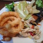 21978450 - 平日ランチ:サラダバーの惣菜達(2013.10)