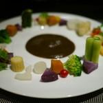 21978717 - 旬の温野菜トリュフソース