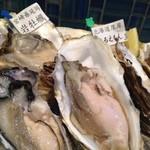Lian - 生牡蠣を2種類いただきました。