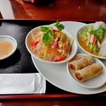 フォー ベト レストラン - Cランチコース(揚げ春巻き、蒸し春巻き、春雨サラダ+好きなフォー選択)