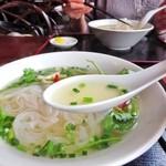 フォー ベト レストラン - あっさりとしてコク深いスープは優しい味わいでヘルシー