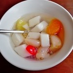 フォー ベト レストラン - あっさりとした甘味の杏仁豆腐