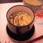 オテル・ド・マロニエ 下呂温泉 - 茶碗蒸しです。