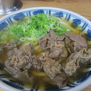 弥太郎うどん - お肉たっぷし