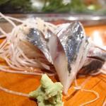 だるま寿司 - あじの〆たもの