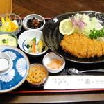 21985135 - 富士金華ロースカツ定食(150g)【2013/10/2*】