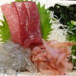 しぞ~か 駅南酒場 - コース料理(刺身)