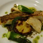 フランス食堂 ヴァンヴェール - 料理写真:メインの魚は、鯛。