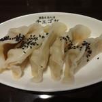 チェゴヤ - キムチ餃子:400円