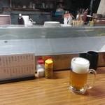 長浜ラーメン初陣 - 開店直後のはずですが・・・
