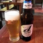 鳳雛 チムタク - 韓国ビール、Hite d dry finish