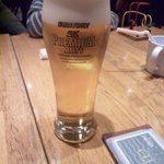 カプリチョーザ - 2013.10. セットのドリンクはプラス100でビールに