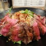 佰食屋 - ステーキ丼(ご飯大盛り)