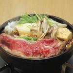素材屋 - ≪旬の美味≫牛すき焼き鍋 一人前609円