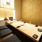 日々季 - 4~6名の個室席ございます。ゆったりとした空間の個室席。