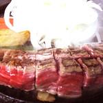 焼肉・ステーキ みーとがぁでん - 料理写真:【ビフテキランチ】
