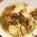 21999413 - 神戸牛お茶漬けです。