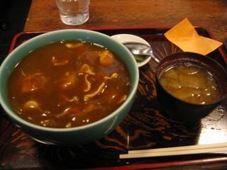 泰明庵 - カレー丼