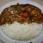 カレーハウスCoCo壱番屋 - OptioA30:実物「チキンと夏野菜カレー」
