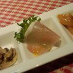 レストラン いけじゅう - ディナーコース 前菜