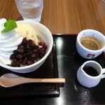 102Cafe - コーヒーぜんざい