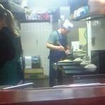 ルプラ - [2013.10]カウンターからの厨房。この光景も見納めと思うとこみ上げてくるものがあります
