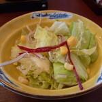 花木鳥 - 野菜サラダ
