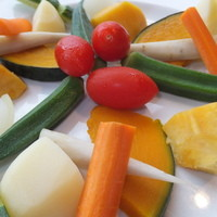 オルトキッチン - 季節により、野菜は頻繁に変わります。