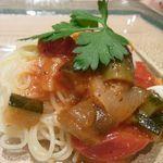 ちかゑ - 夏野菜の冷製パスタ