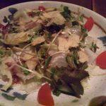 うまうま - 2013.10. 真鯛のおさしみサラダ(\710)