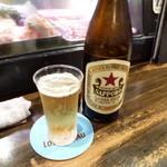 焼鳥れっとり - サッポロラガービール