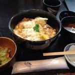 平田牧場 とん七 - 平牧三元豚カツ丼1050円