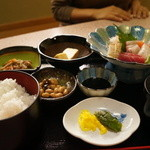 豊後 - 料理写真:お造り定食