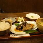 花百咲 - ランチ(魚)の全景です