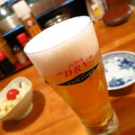 海鮮居酒屋 ようすけ - スーパードライエクストラコールド570円