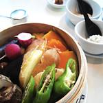 22018503 - 旬野菜セイロ蒸し(小)1500円