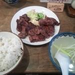 利助 - 牛ハラミ定食¥900