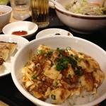 横濱一品香 - 麻婆丼