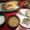 こんぴら丸 - 料理写真:ホッケ焼き定食(950円)