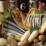 居酒屋 とっくり - 料理写真:地元生産者から直接仕入れる新鮮な食材!