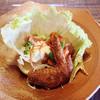 若人 - 料理写真:鶏料理3種