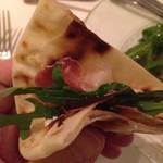 グラッポロ - ピアディーナで挟んで食べます