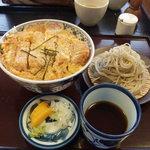 信州安曇野手打蕎麦 たか瀬 - カツ丼ミニそばセット