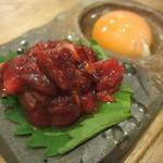 東京馬焼肉 三馬力 - ユッケ