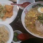 中華料理 アモイ - らーめんから揚げチャーハン