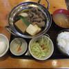 金太郎 - 料理写真:牛鍋(すき焼き)定食