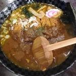 彩煌 - 料理写真:カツカレーラーメン 2013年10月